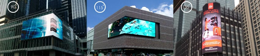 outdoor-fixed-Curved LED