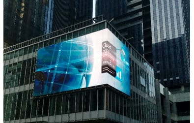 outdoor-fixed-LED advertising