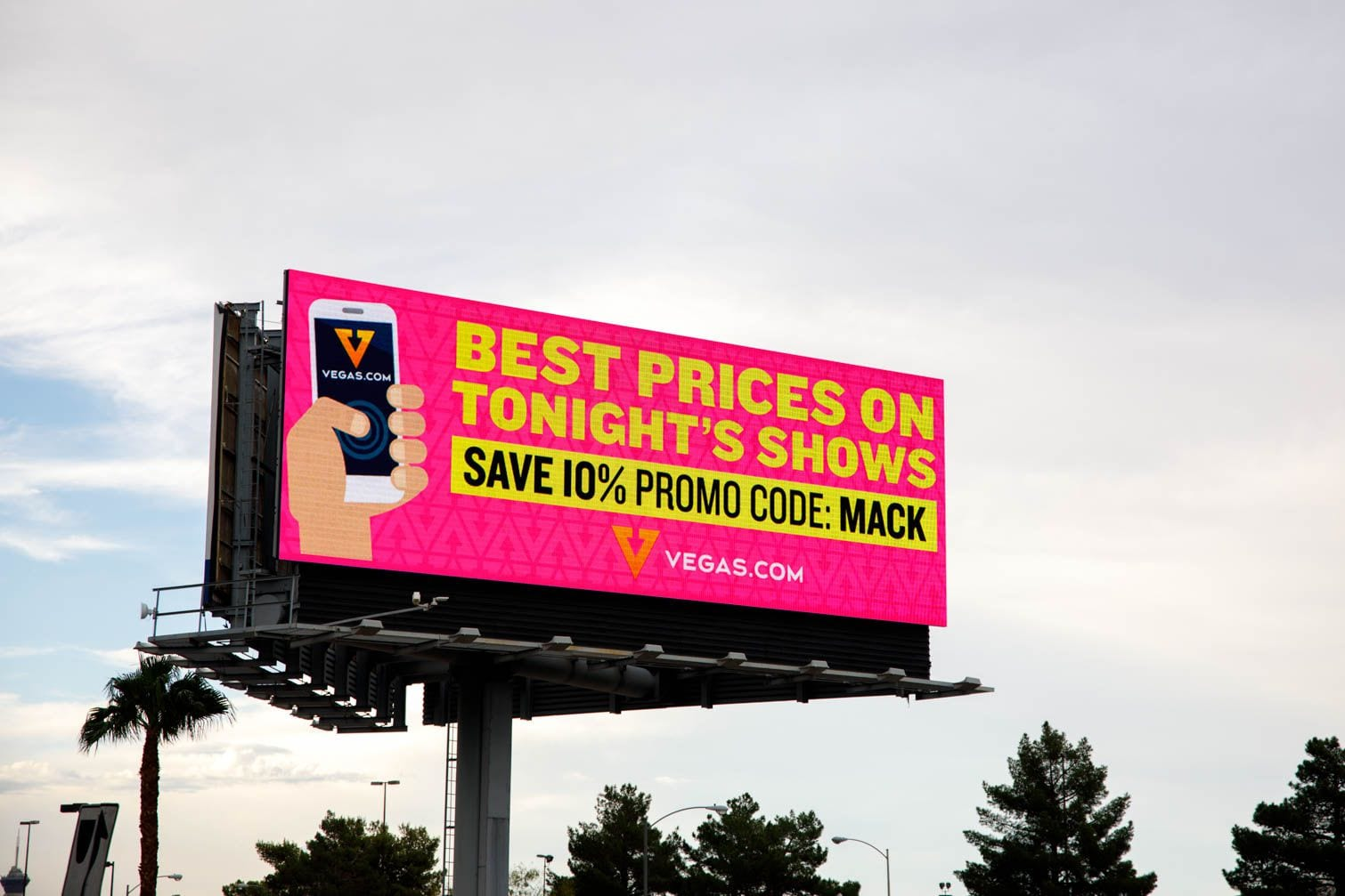 Digital outdoor Billboard Las Vegas