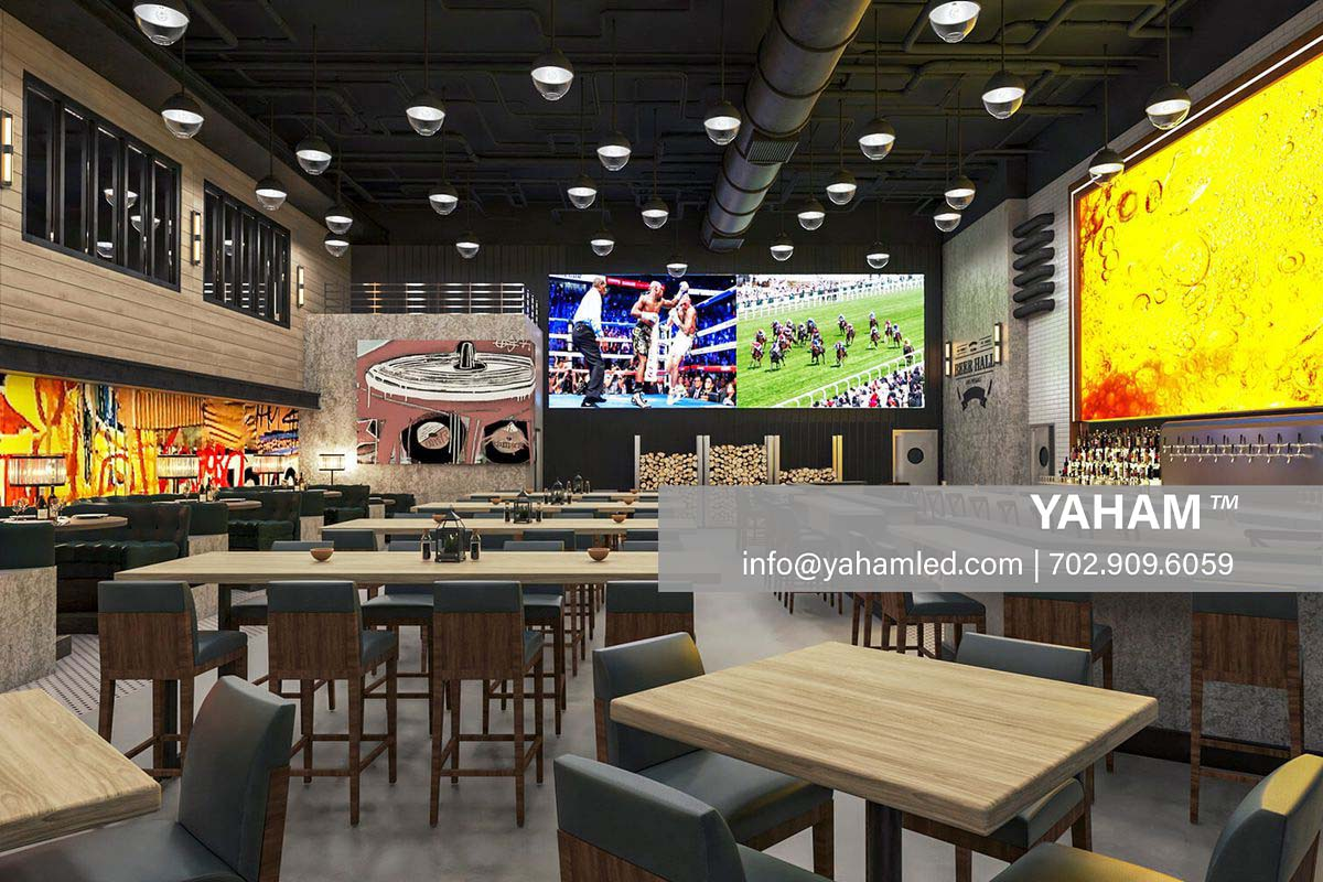 Beer Hall led signs indoor