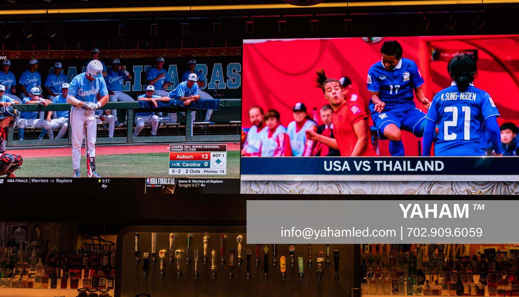 led signage display