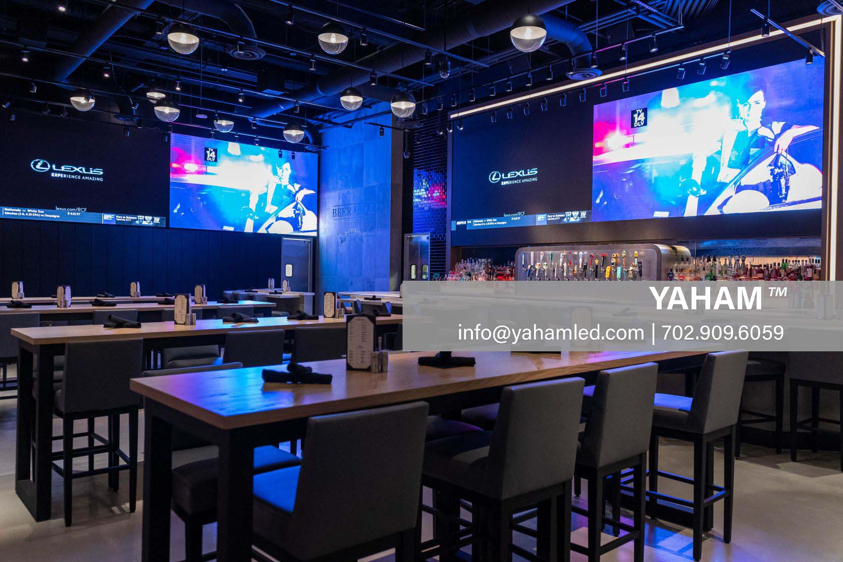Yaham programmable led signs indoor