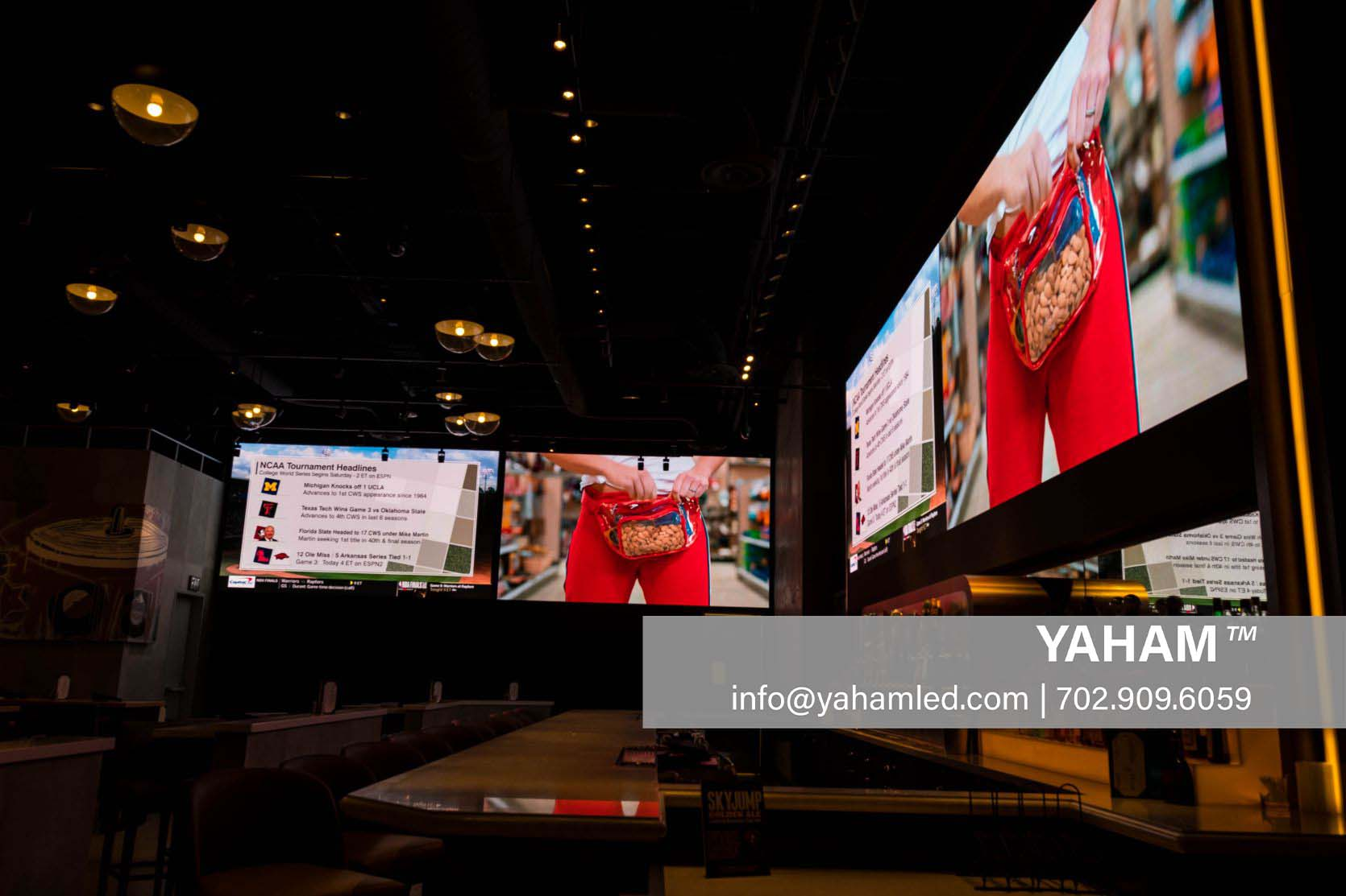 indoor led signs for business