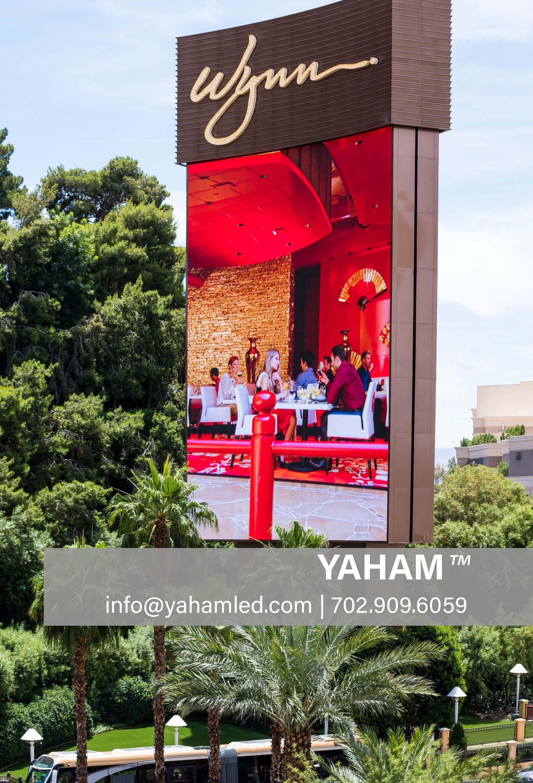 Wynn digital display