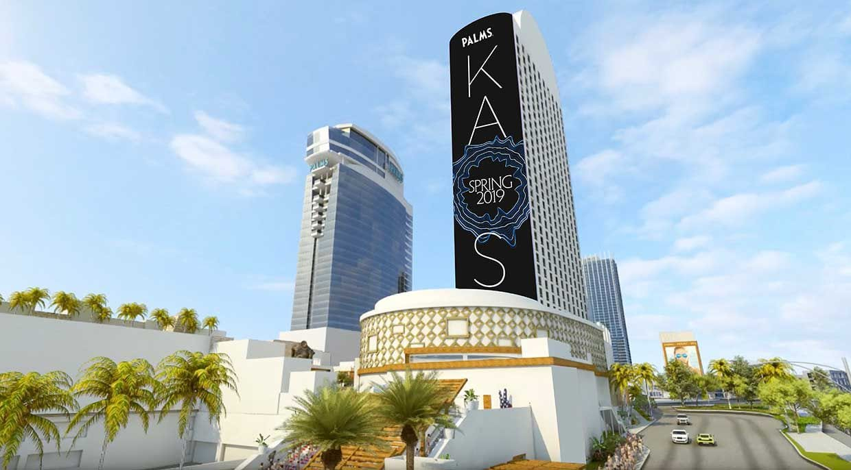 Building Billboard Mockup Las Vegas