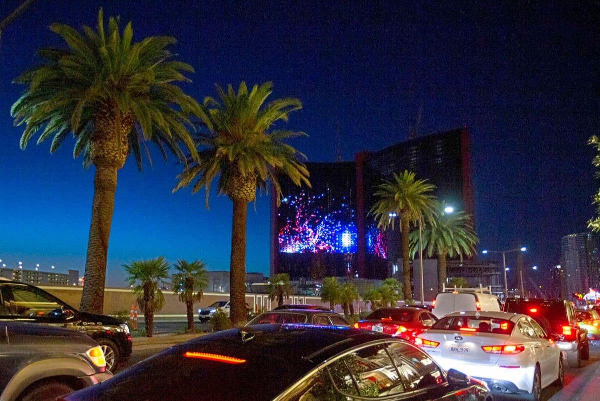 Resort World Hotel LED Screen