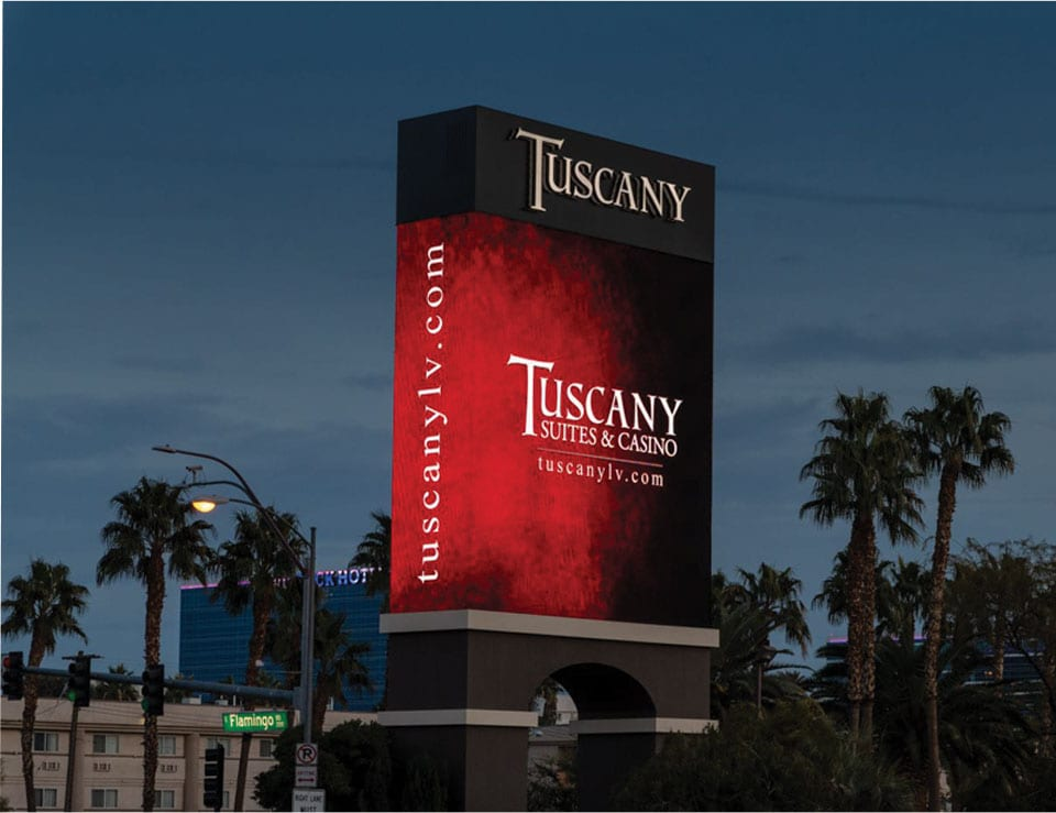 Tuscany Suites and Casino LED
