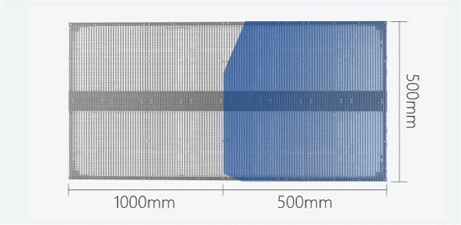C0 Series 1000mm x 500mm