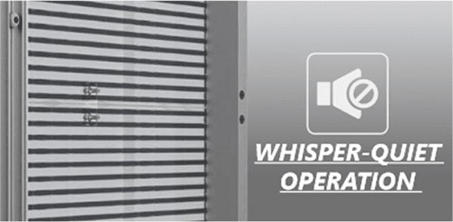 C0 Series Whisper Quiet Operation