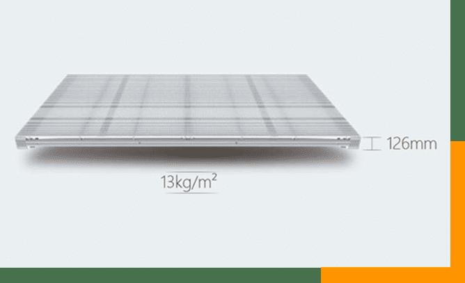 C1 Series Light and Design aluminum Architecture