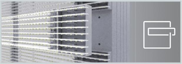 C1 Series Modular Design Composed of Eight Light Bars