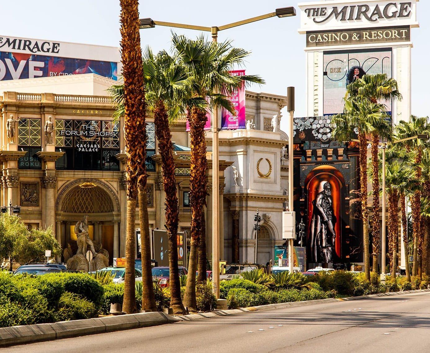 The Mirage Casino and Resort Gaming Hero