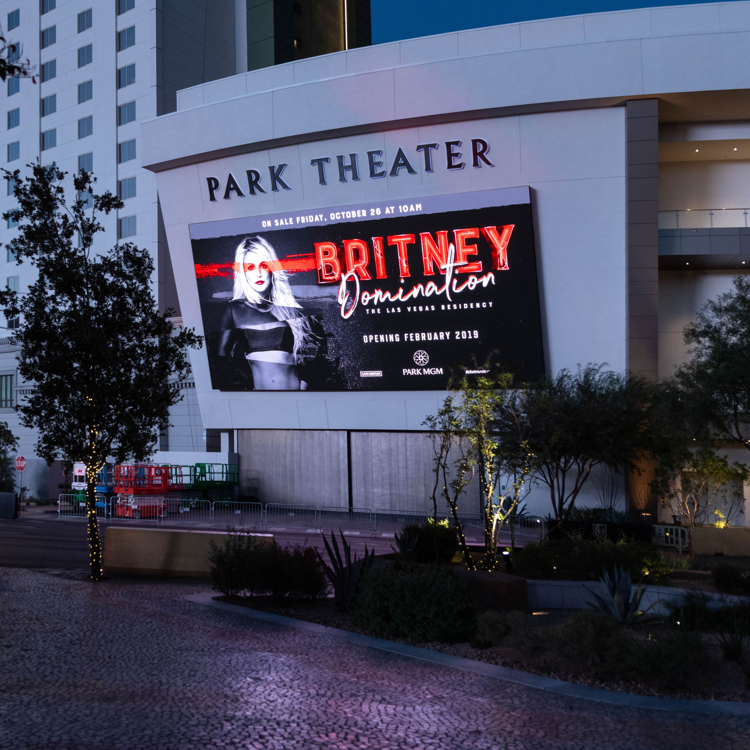 Park Theater LED Display