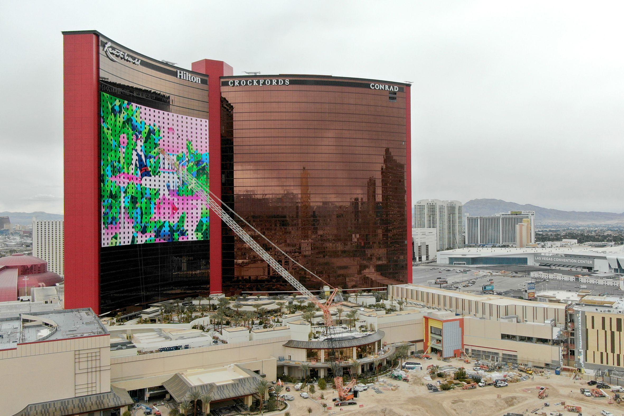 Resorts World LED Screen